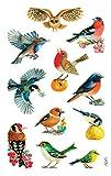 Avery Zweckform 55713 Deko Sticker Vögel 33 Aufkleber