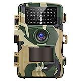 Wildkamera 14MP 1080P Full HD - AKASO Jagdkamera Fotofalle Beutekamera mit Bewegungsmelder 20M...