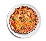 6 x Ø 31 cm Pizzateller / Starterteller / Riesenteller / Universalteller / Buffetplatte | Höhe 1,8...
