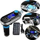 Neue Version Professional FM Transmitter Car Kit Bluetooth Wireless MP3 Player Musik...