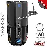 Tavola Swiss 5049055 Kapselspender, Typ: CapStore Roulette passend für 6 x 10 Nespresso Kapseln