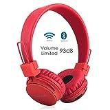 Termichy Drahtlos Bluetooth Kopfhörer für Kinder,Wireless Faltbare Tragbare Headset,On Ear Stereo...