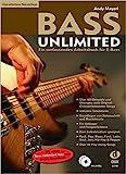 Bass Unlimited: Ein umfassendes Arbeitsbuch für E-Bass inkl. 2 CDs (aktualisierte Neuauflage mit...