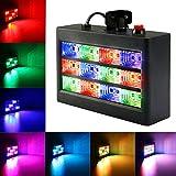 SOLMORE Disco Strobe Stroboskope LED PAR Licht Disco Lampe Discolicht Partylicht Beleuchtung...