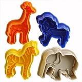 landsell Set von 4Tier Form Cookie Ausstechformen Kuchen Formen Form Dekoration Fondant Bakeware...