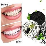 Luckyfine Natürliches Bamboo charcoal schwarz Zahn Pulver, Teeth Whitening, entfernen Zähne...