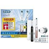 Oral-B Bonuspack Genius Wiederaufladbare Elektrische Zahnbürste, 2 Handstücke mit...