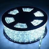 COSTWAY 20M LED Lichterschlauch Lichtschlauch Lichterkette für Außen und Innen mit 720 LEDs...