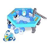 MMilelo Kinder Tabletop Spiele 2-4 Personen Eltern-Kind Tischspiel Desktop Spiel Pinguin Trap Spiel...