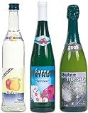Your Design Flaschen Etiketten: 32 Inkjet-Flaschenetiketten 8,5x10 cm mit 32 Banderolen...