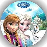 Fondant Tortenaufleger Tortenbild Geburtstag Frozen Die Eiskönigin T13