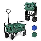 Sekey faltbarer Bollerwagen | Handwagen | Faltwagen | Strandwagen | Gartenwagen | Outdoor...