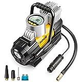 AstroAI Luftkompressor elektrische luftpumpe Mini Kompressor Tragbare Auto Luftpumpe Elektrischer...