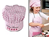 Kochmütze oder Küchenschürze & Topfhandschuh für Kinder - erhältlich in 4 Varianten und einer...
