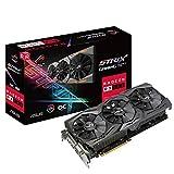 Asus ROG Strix-RX580-O8G-Gaming AMD Radeon Grafikkarte (8GB GDDR5 Speicher, PCIe 3.0, HDMI,...
