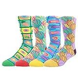 wytartist Herren Kleid cool Colorful Neuheit Funny Casual gekämmte Baumwolle Crew Socken...