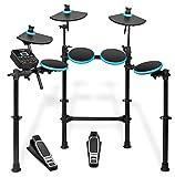Alesis DM Lite Kit, Elektronisches Schlagzeug e-Drum Set mit 7 LED-beleuchtete Drum Pads,...