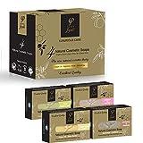 Olivenölseife - Olivenöl Seifenstück für Körper & Gesicht − Luxus Geschenk Set - Griechisches...