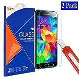 2x plt24 Samsung Galaxy S5 / S5 neo Ultra-Klar Glasfolie Panzerglas Schutzfolie Displayschutzglas...