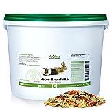 AniForte Natur Nagerfutter 10 Liter für Hamster, Meerschweinchen, Kaninchen - Qualitäts-ID: OLP C...
