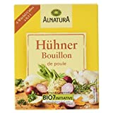 Alnatura Bio Hühner Bouillon, 6 Würfel, 66 g