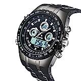 Herren, Herren Sport Armbanduhr 98 ft Wasser Beständig Fashion Outdoor Analog Digital Militär...