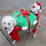 Cystyle Haustier Hund Katze liefert Weihnachten Halloween Welpen Weihnachtsmann zu geben Geschenke...