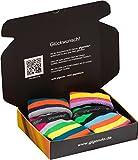gigando | Colored Thermo Socks with Dots and Stripes | bunte Thermo Socken für Damen | warme,...