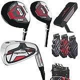 Wilson ProStaff HDX Golf Komplettset +1 inch Eisen 5-SW, Hybrid, Holz, Putter, Wilson Staff I-Lock...