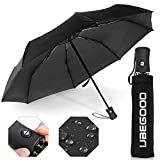 Regenschirm Taschenschirm, Ubegood Regenschirm leicht & kompakt Outdoor Taschenschirm mit...