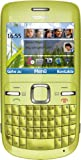 Nokia C3 Smartphone (6.1 cm (2.4 Zoll) Display, Bluetooth, 2 Megapixel Kamera, QWERTZ-Tastatur)...