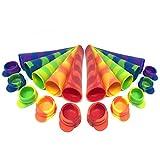 Eisformen Eis am Stiel selber machen – BPA freie Ice Maker Formen aus flexiblem und haltbarem...