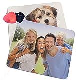 Mousepad mit eigenem Foto, individuell bedruckt mit Logo oder Motiv, 5 mm stark, 270 x 190 mm und...