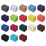 10er Pack Waschhandschuh Set - 10 Waschhandschuhe 15x21 cm - Farbe Türkis