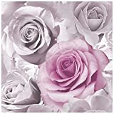 Wandtapete Rosa - 119505 - Madison - Rosen - Blumen Blüten - Muriva