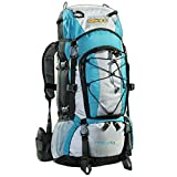 AspenSport Rucksack The South Pole, türkis/grau, 50 x 38 x 23 cm, 70 Liter, AB06L04