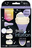 Wilkinson Sword Intuition Dry Skin Vorteilspack 3 Rasierklingen + 1 Rasiergriff Gratis