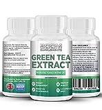 Grüner Tee Extrakt 850mg | Grüntee Extrakt 850mg Höchste Stärke | 120 wirkungsvolle Fett-Burner...
