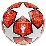 adidas Größe 4 Fußball Europa-Turnierball Champions League Madrid Finale 2019 Rot/Weiß Alter...