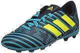 adidas Jungen Nemeziz 17.4 Fxg J Fußballschuhe, Mehrfarbig (Legend Ink /solar Yellow/energy Blue ),...