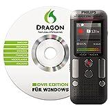 Philips DVT2700 Digitales Diktiergerät inkl. Spracherkennungs-Software f. Windows, kompaktes...