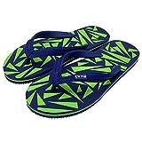 It's Me | Flip Flops, Größe 40-42, Farbe blau / grün| Jetzt Natur Kautschuk | rutschfest |...