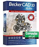 Becker Cad 10 3D Pro für Microsoft Windows 10-8-7-Vista-XP | Cad-Software für Architektur,...