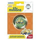 Minions 339239Pack 50Muffinförmchen Cupcakes Papier grün 5x 5x 3cm