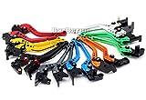 Motorrad Bremshebel & Kupplungshebe Set Lang Verstellbar für Honda CB300F CB500F/X CBR500R MSX125...