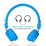 Termichy Wired Kinder Kopfhörer faltbarer On-Ear Hifi Stereo headset mit Inline-Control Abnehmbare...