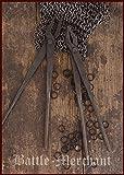 1 Paar handgeschmiedete Sarwürkerzangen Schmiedezange aus Stahl für Kettenhemden LARP Wikinger...