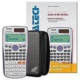 Casio FX-991 DE Plus Aktions-Bundle (Casio FX-991 DE Plus + Schutztasche + Arbeitsbuch)