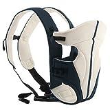ECOSUSI Babytrage 100% Polyester Bauch und Hüfttrage (3.6 - 9.1 kg) 3 Tragepositionen:...