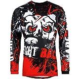 Broken Head MX Jersey Strike Back rot | Moto-Cross Jersey - BMX - Offroad - Trikot - Racing Shirt...